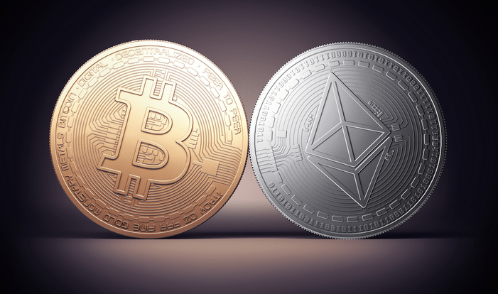 bitcoins and ethereum